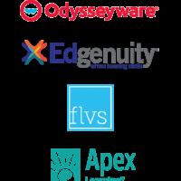 integrated online curriculum logos